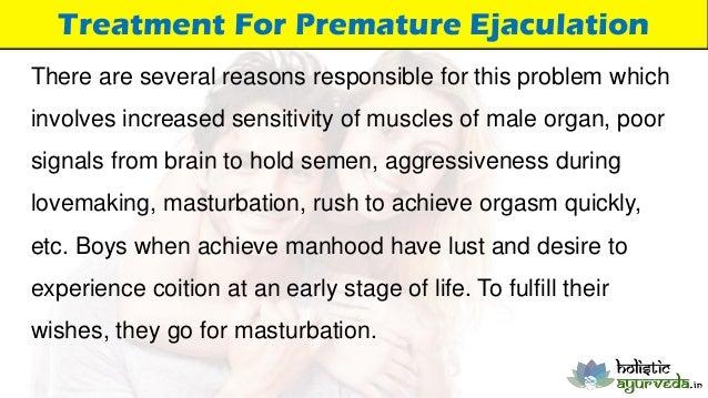 Delayed Ejaculation Due To Masturbation