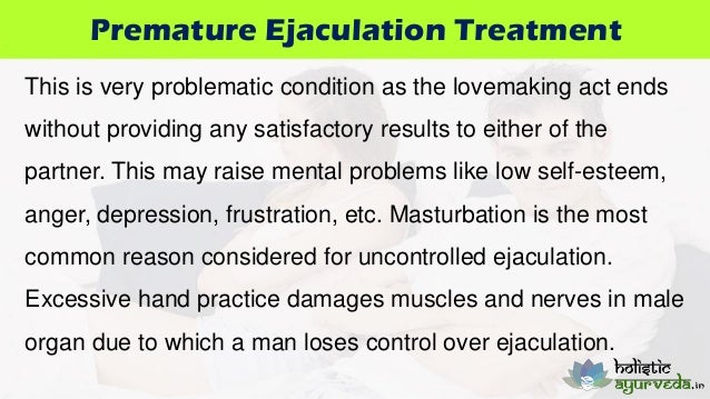 Delayed Ejaculation Due To Masturbation