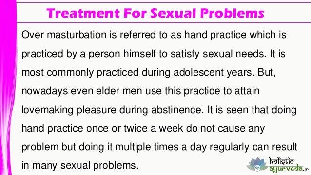 Over Masturbation Problems 116