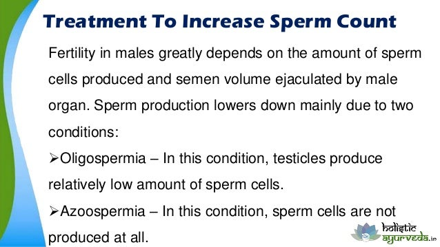 No sperm count treatment