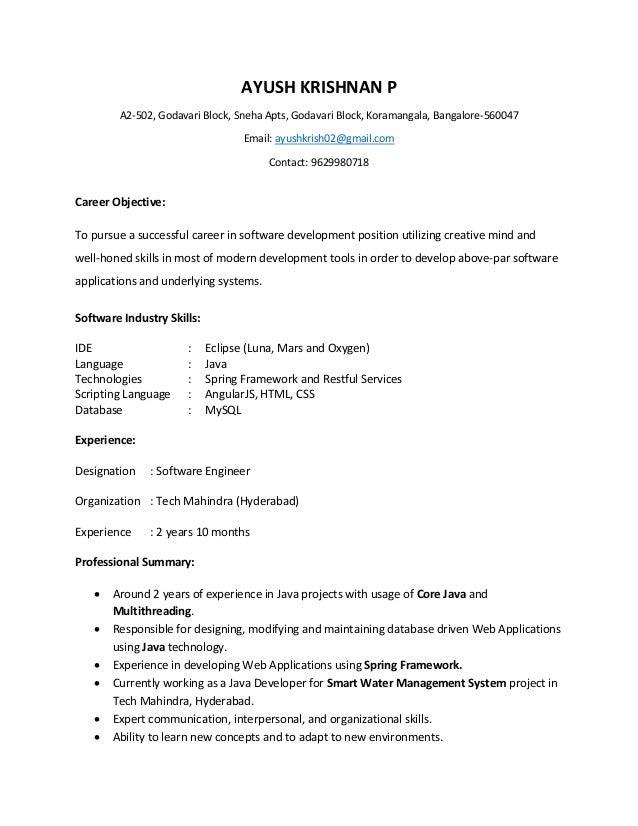 Ayush Resume