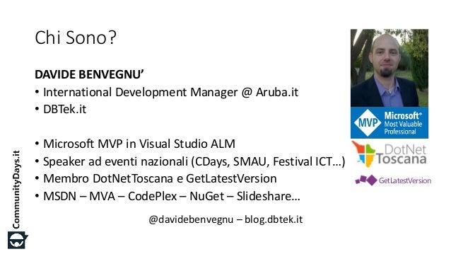 CDays15 - AZ08 - DocumentDB: il NoSql secondo Azure Slide 3