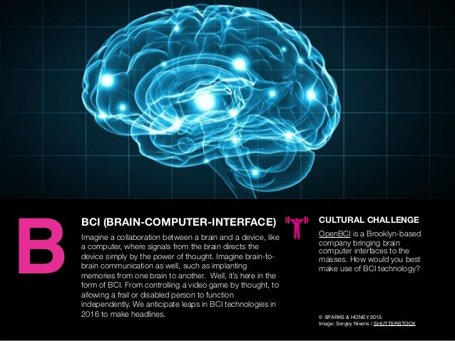AGENCY OF RELEVANCE BCI (BRAIN-COMPUTER-INTERFACE) Imagine a collaboration between a brain and a device, like a computer, ...