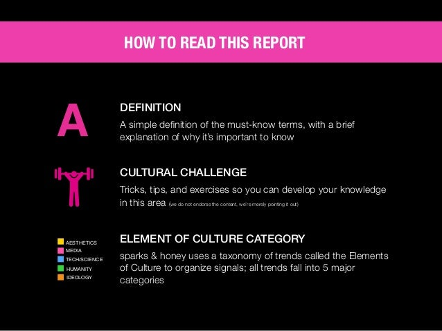 AGENCY OF RELEVANCE HOW TO READ THIS REPORT Moving at the speed of culture and staying relevant is challenging for brands ...