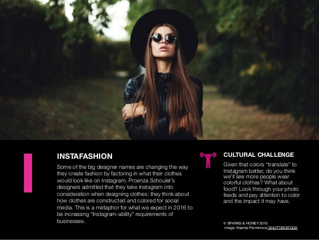 AGENCY OF RELEVANCE INSTAFASHION Some of the big designer names are changing the way they create fashion by factoring in w...