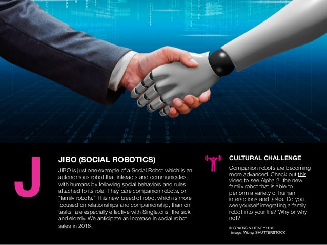AGENCY OF RELEVANCE JIBO (SOCIAL ROBOTICS) JIBO is just one example of a Social Robot which is an autonomous robot that in...