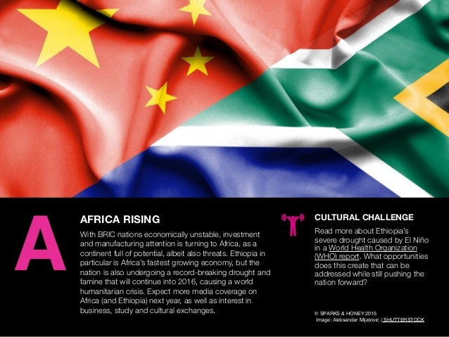AGENCY OF RELEVANCE AFRICA RISING With BRIC nations economically unstable, investment and manufacturing attention is turni...