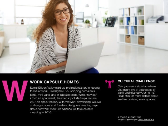 AGENCY OF RELEVANCE WORK CAPSULE HOMES Some Silicon Valley start-up professionals are choosing to live at work…literally! ...