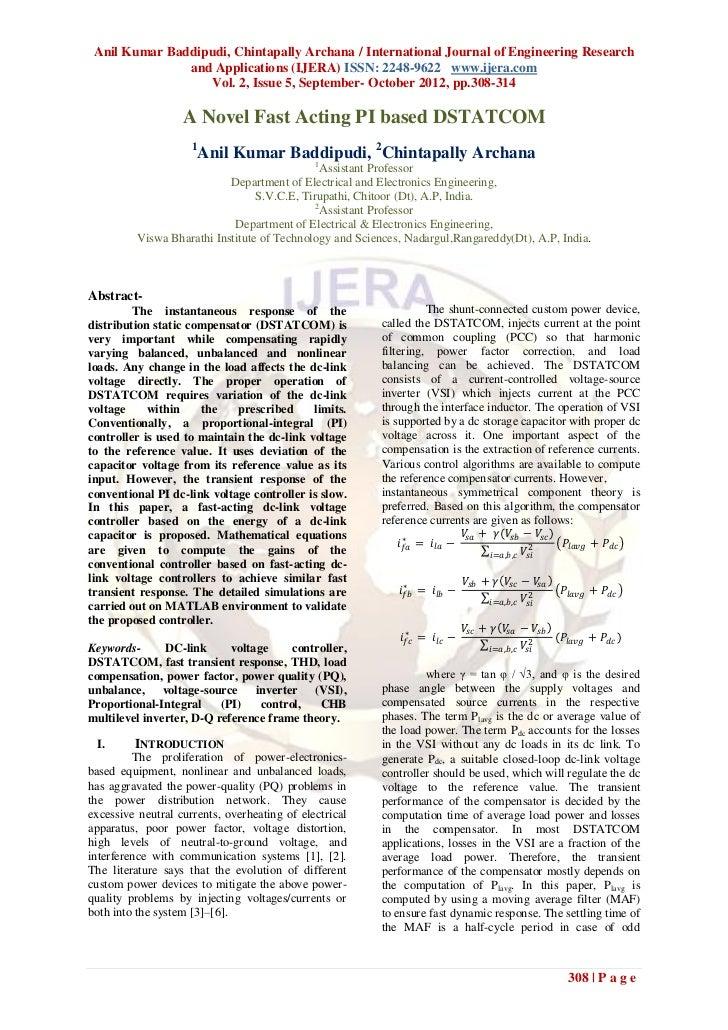 Anil Kumar Baddipudi, Chintapally Archana / International Journal of Engineering Research               and Applications (...