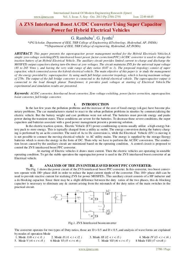 www.ijmer.com  International Journal Of Modern Engineering Research (Ijmer) Vol. 3, Issue. 5, Sep - Oct. 2013 Pp-2786-2791...