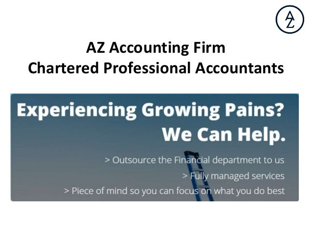 AZ Accounting Firm Chartered Professional Accountants