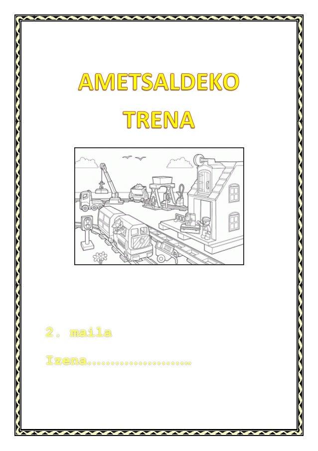 AMETSALDEKO TRENA- SANTILLANAN OINARRITUTA