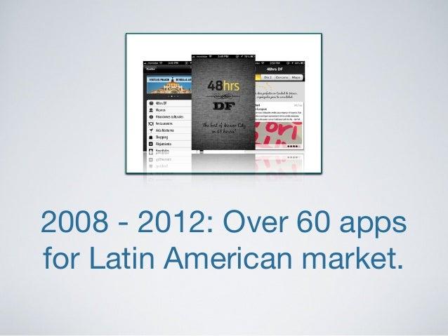 GOAP LatAm 2013 > 7x7 Presentation: Azap Slide 3