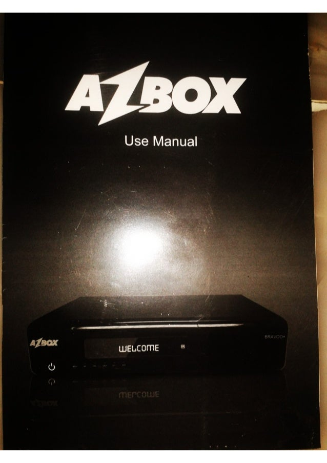 Azbox bravoo HD +  Manual en Español