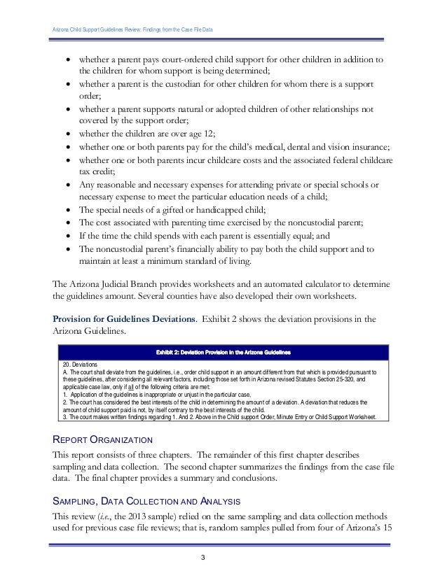 Fillable Maricopa County Child Support Calculator - Fill Online ...