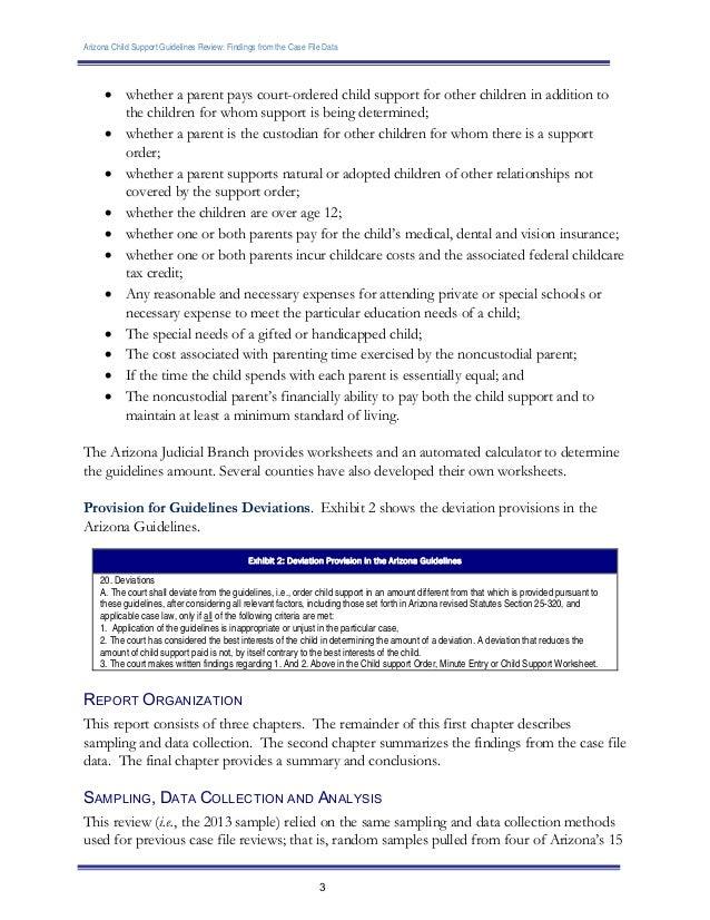 Worksheets Child Support Worksheet Az az child support worksheet calculator arizona