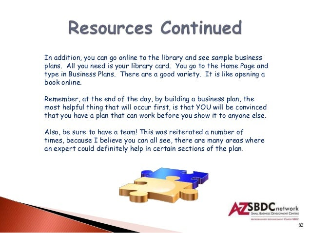 books business plan development