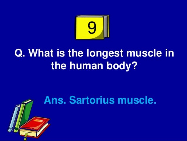 azhar general knowledge quiz (questions and answers), Muscles