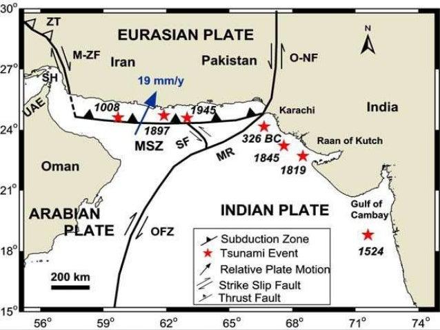 Risultati immagini per the Ornach-Nal and Chaman fault tracks