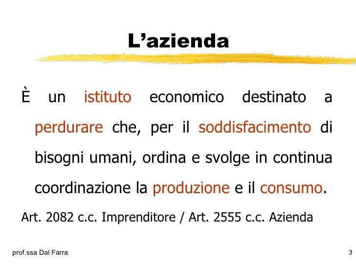 Azienda Slide 3