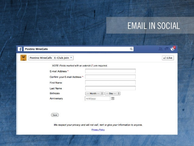 EMAIL IN SOCIAL
