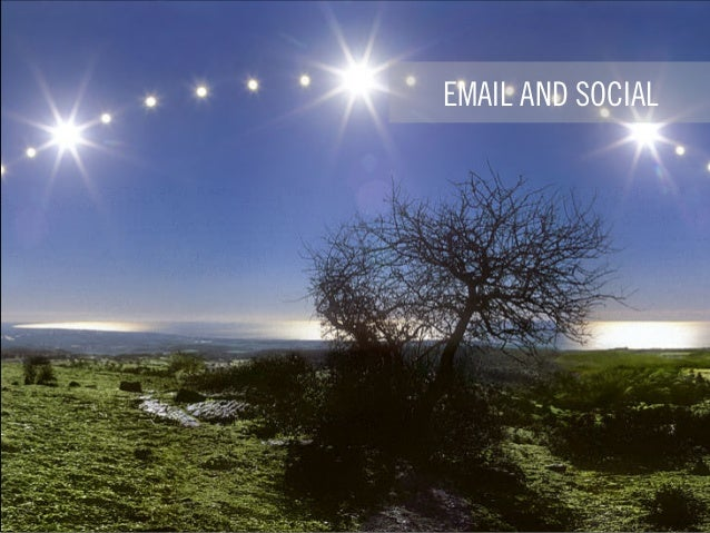 EMAIL AND SOCIAL
