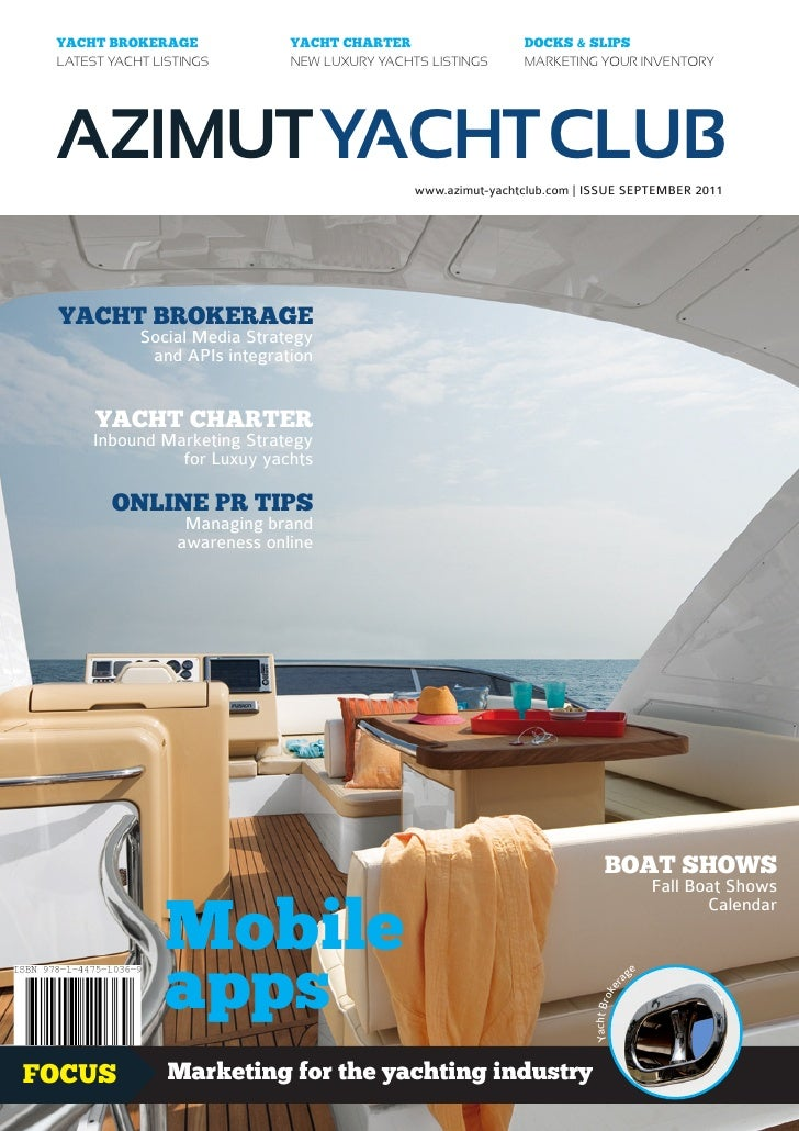 YACHT BROKERAGE              YACHT CHARTER                   DOCKS & SLIPS LATEST YACHT LISTINGS        NEW LUXURY YACHTS ...