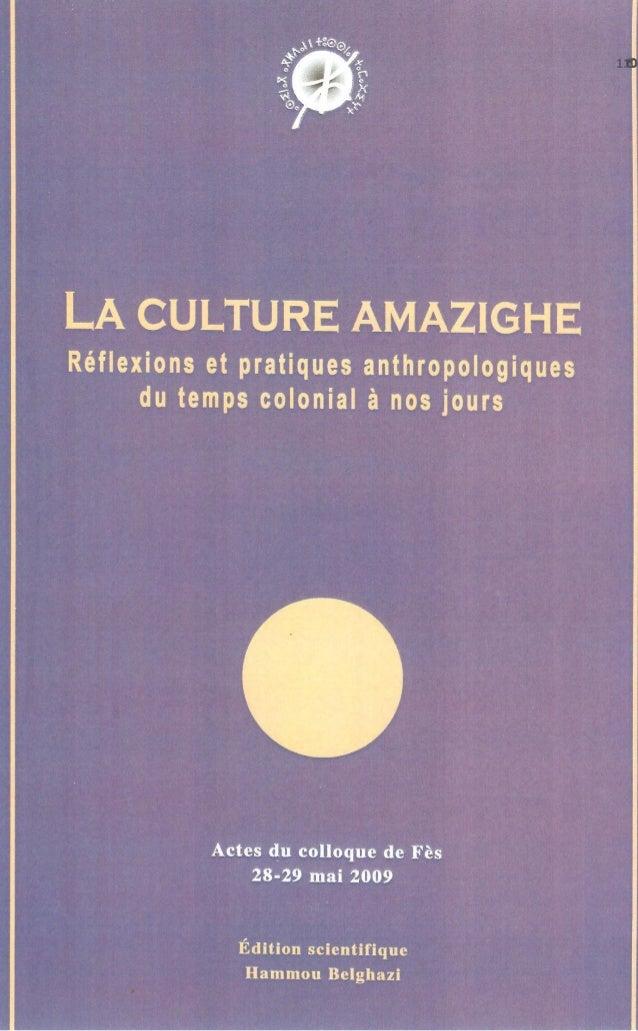 La culture amazighe. Réflexions et pratiques anthropologiques  Les Idaw Facebook. Typologie de groupes amazighs  1  sur un...