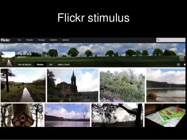 Flickr stimulus