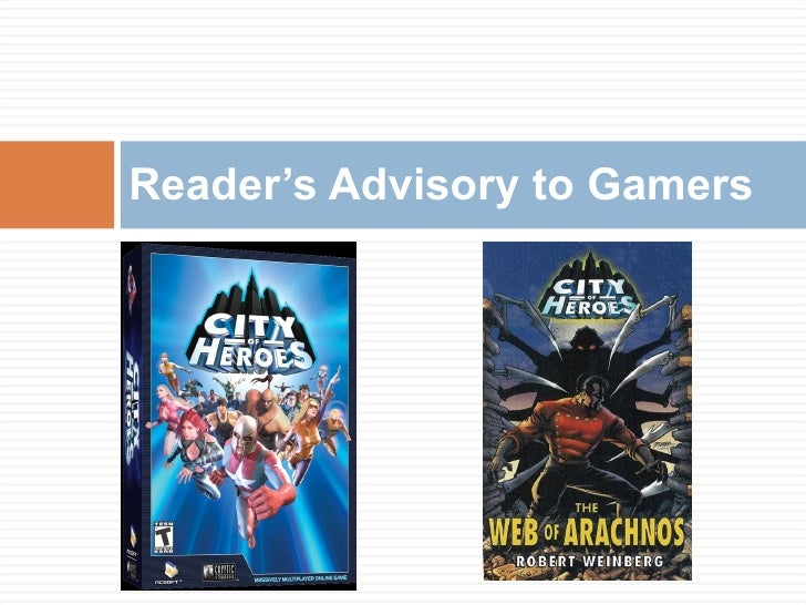 Reader's Advisory to Gamers