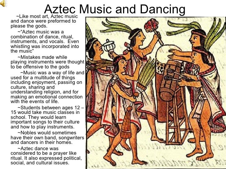an overview of the aztec culture and way of life