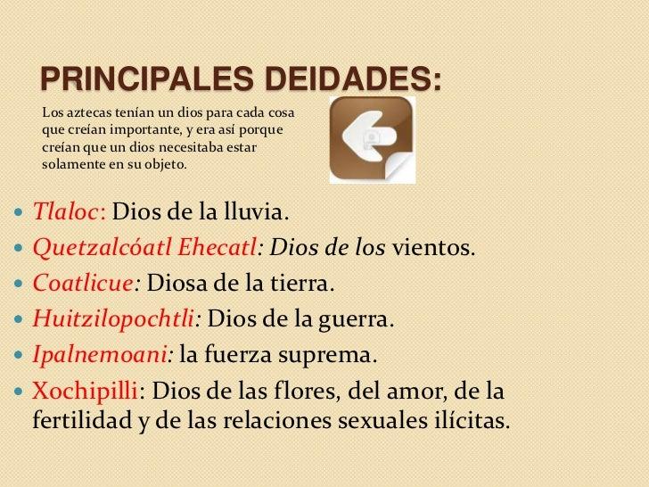 FORMA DE VIDA:   La religión mexica enseñó que era necesario apaciguar a los dioses    con sacrificios humanos. Una tras ...