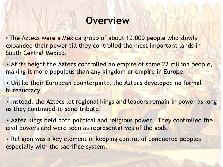 The Aztecs rise to power Essay Sample