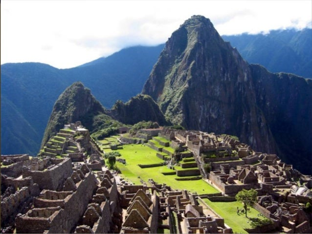 Incas  The Incas built their  cities on many types  of geography. Some  high in the Andes and  others along the  coast