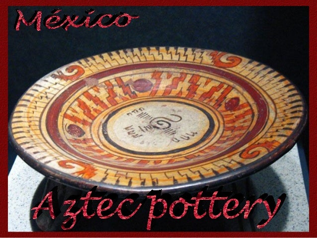 We know a lot about ancient Aztec pottery because of a curious tradition that was followed - at the end of every 52 year c...