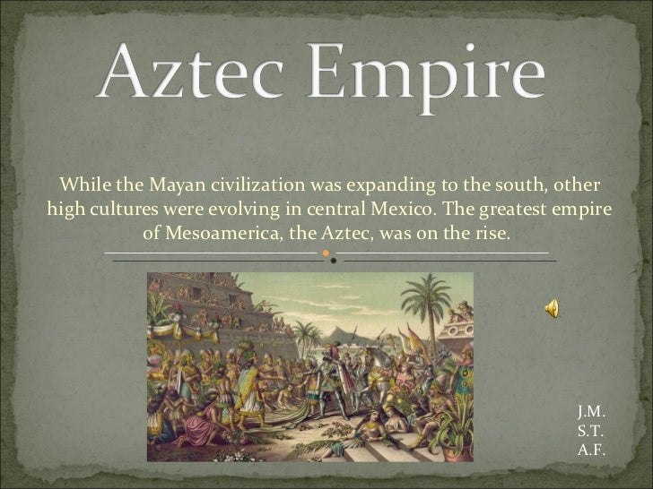 aztec and inca empires essay Did the empires of the inca and aztec civilizations have an impact on each other due to their proximity there were many similarities and differences between the aztecs and incas in the americas although they did develop in close proximity of one another, they had similarities they did not.