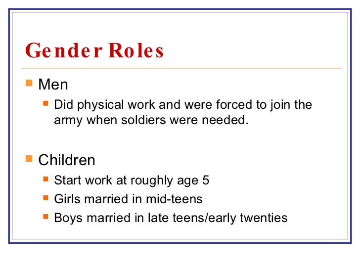 Seminar: What Causes Gender Inequality?