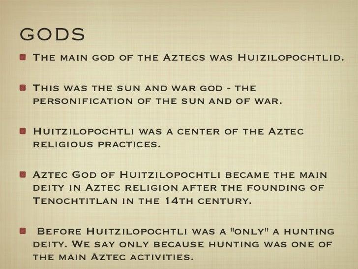 Aztec Food Gods And Symbols