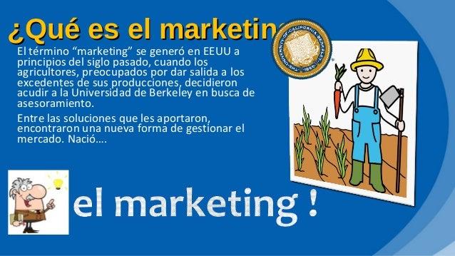 que es el marketing presentacion powerpoint