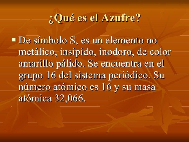 Ciclo biogeoquímico del Azufre Slide 2