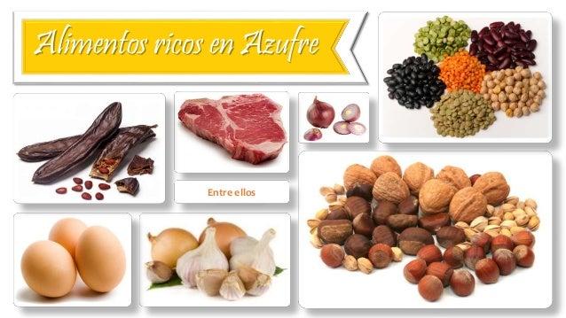 Azufre - En que alimentos encontramos magnesio ...