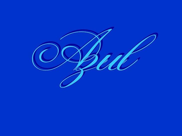 Azul Slide 1