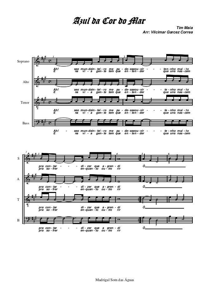&  &  V  ?  ###  ###  ###  ###  c  c  c  c  Soprano  Alto  Tenor  Bass  1  ˙ oe oe oe oe oe oe oe oe  Ah!  seo  mun-vi  do...