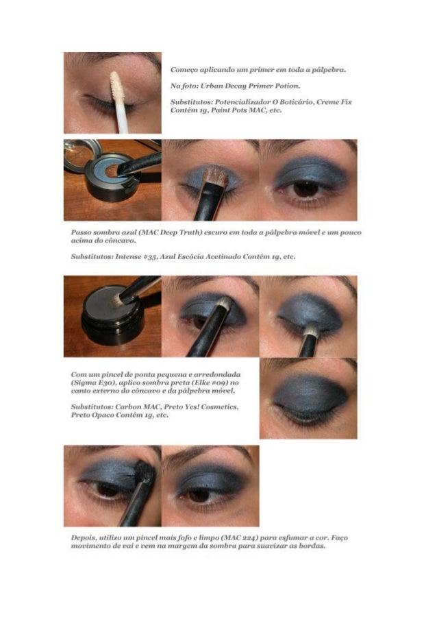 Azul glitter - dicas maquiagem avonloja.com