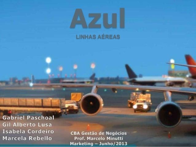 AzulLINHAS AÉREAS