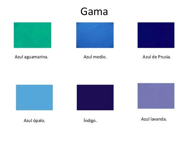 Gama de azules sol chico en gama azules mas diseos for Gama de colores azules
