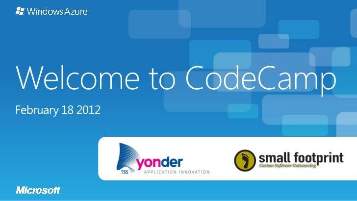 10:00 – 10:50   Introducere în Windows Azure ACS        Mihai Nadăș,                                                      ...
