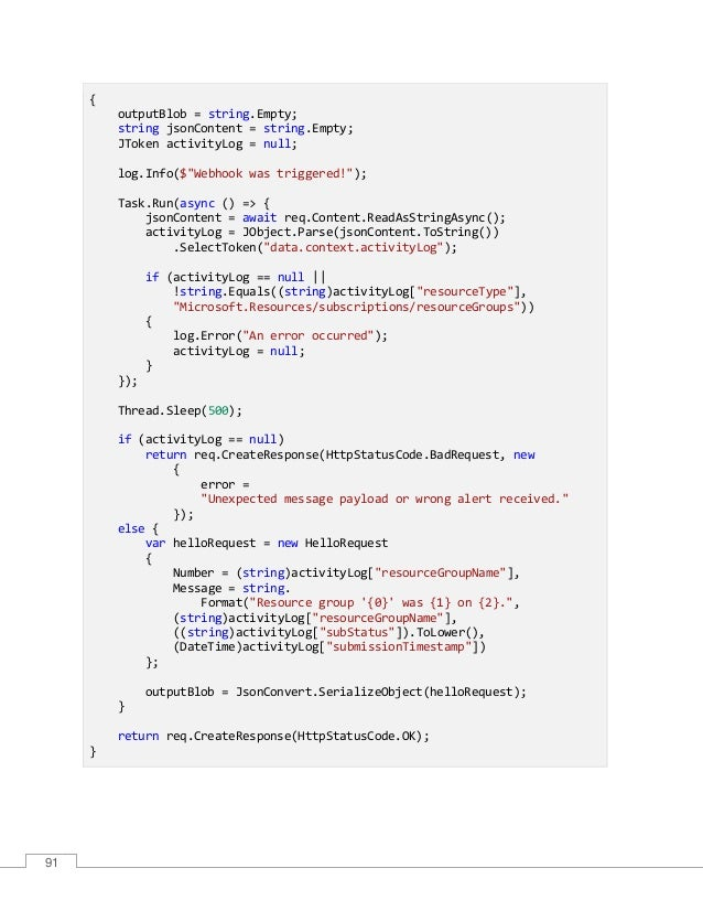 Azure functions-succinctly
