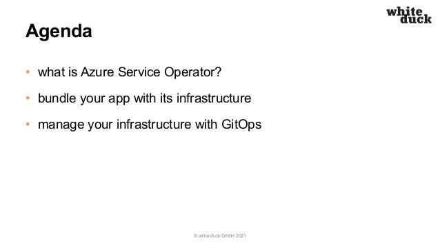 Azure Rosenheim Meetup: Azure Service Operator Slide 3
