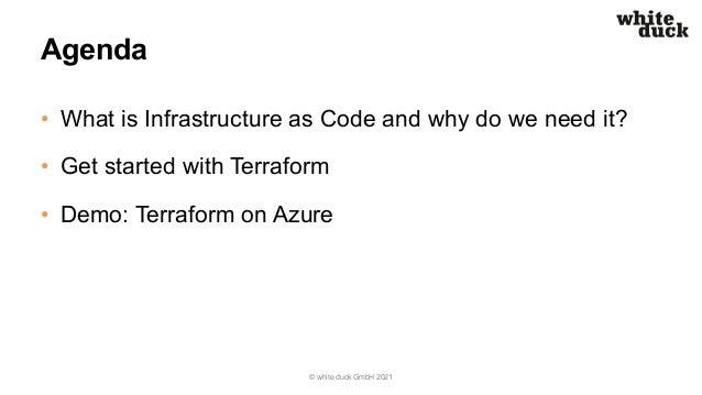 Azure Meetup Hamburg: Production-Ready Terraform Deployments on Azure Slide 3